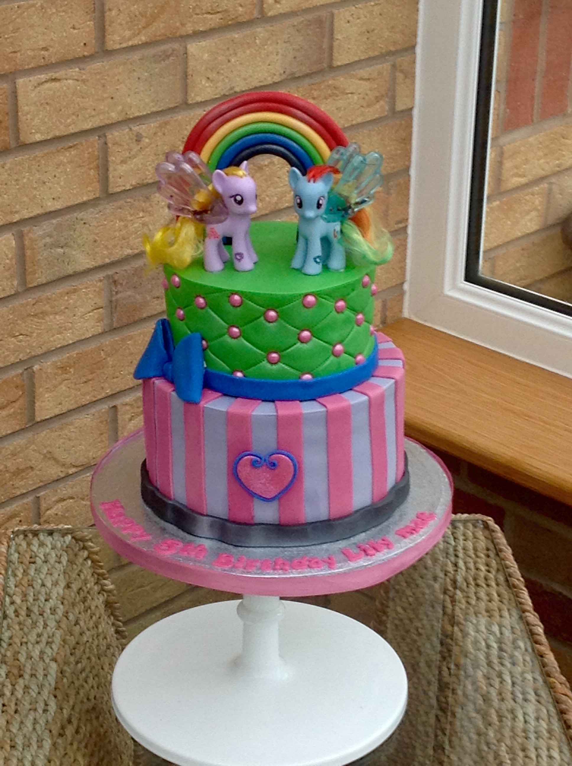 2 Tier My Little Pony Cake Perfect Cakes